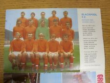 1970/1971 Football League Review: Vol 5 No 26 - Colour Picture - Blackpool . Con