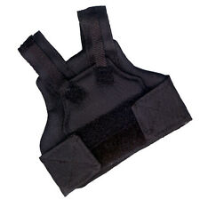"""Did Dragon in a Dream Black Body Armour Vest for 12"""" Action Figures 1:6 (1099b4)"""