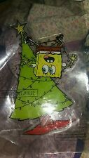 Spongebob squarepants christmas gel cling nip #1