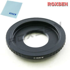 "C mount 16mm 1/2"" CCTV lens To Canon EOS M EF-M mount Mirrorless Adapter M2 M3"