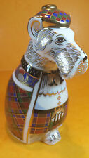 ROYAL CROWN DERBY SCOTTISH TERRIER SINCLAIR TARTAN SIGNED LIMITED EDITION