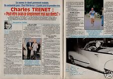 Coupure de presse Clipping 1992 Charles Trenet (2 pages)