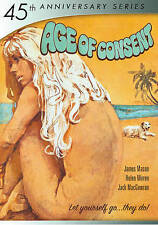 Age of Consent (DVD 2015 45th Anniv.) RARE HELEN MIRRENS 1ST STARRING ROLE NEW