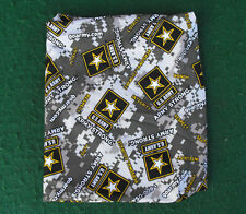 """US Army Cloth Material Camo Style 8"""" Tall Book Cover USA Jacket"""
