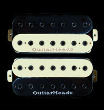Guitar Parts GUITARHEADS PICKUPS HEXBUCKER HUMBUCKER - 7 STRING - SET 2 - ZEBRA
