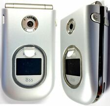 Philips 855 - Silver Unlocked European Asian Dual Band Gsm Camera Flip Cellphone