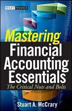 Mastering Financial Accounting Essentials: The Critical Nuts and Bolts, McCrary,