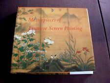 1800 Years Of Japanese Screen Printing Art Reference Book 232 Pages Color Plates