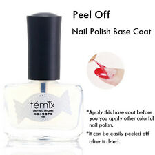 7ml Transparent Nail Polish Base Coat Health Rapid Dry Easy Peel Off Nail Polish