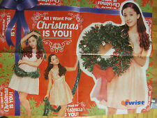 Ariana Grande, Austin Mahone, Double Sided Four Page Foldout Poster