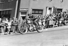 BSA 500 Goldstar & Wheeler 1951 Isle of Man TT motorcycle racing photo