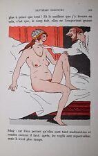 Les Dames galantes Brantôme Joseph Hémard 1/1500 vélin bibliophilie amours cour