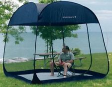 Camping Pop Up Screen Room With Floor Beach Tent Tarp Shade Outdoor Canopies New