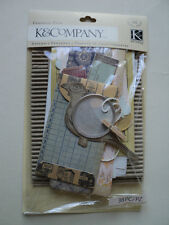 K & CO HANDMADE EPHEMERA PACK BNIP
