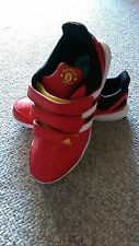 New Youth Boy's Adidas Manchester United MUFC Hyperfast Shoes Soccer size 5.5Y