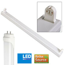Batten Fitting 2FT Single T8 With Brite Source Cool White 4000k LED Tube
