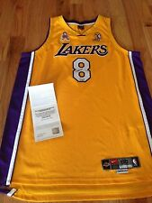 Kobe Bryant UDA Upper Deck Signed Autograph Ribbon 02 Finals Patch Jersey /208