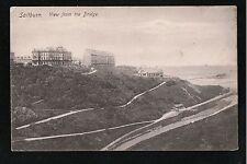 L@@K  SALTBURN View From The Bridge Saltburn Nr Redcar 1900's ? Postcard