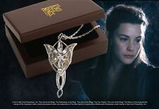 OFFICIAL LORD OF THE RINGS ARWEN EVENSTAR STERLING SILVER NECKLACE FROM NOBLE