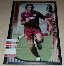 CARD CALCIATORI PANINI 2003 REGGINA SAVOLDI CALCIO FOOTBALL SOCCER ALBUM