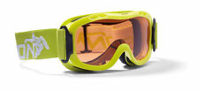DMN Magic Single junior lime fluo safety Skibrille Snowboardbrille