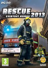 RESCUE 2013 EVERYDAY HEROES FIREFIGHTER SIMULATOR GAME - NEW FIRST CLASS POST