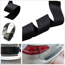 """35"""" X 3"""" Black Car SUV Rear Bumper Scratchproof Protector Rubber Sill Cover Pad"""