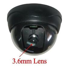 """Sunvision 480TVL Indoor CCTV Dome Camera 1/3"""" Sony CCD 3.6mm Lens (27B)"""