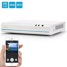 Zmodo® / Funlux 8 Channel 720p sPoe NVR ZM-SS7009D8-S with HDMI