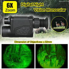6x32 Digital Infrared IR Night Vision Camera Monocular Binoculars Scope Tactical