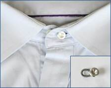 Metal Business Shirt Collar or Cuff Extenders - Widens Expands Button Neck Size
