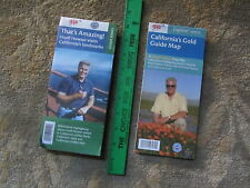CALIFORNIA'S MAPS - HUELL HOWSER TV SHOWS - 2 AAA/ACSC MAPS - RECENT ISSUES