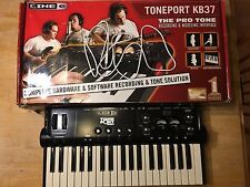 Line 6 TonePort KB37 USB Audio Interface and MIDI Controller