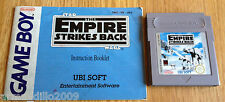 STAR WARS THE EMPIRE STRIKES BACK for NINTENDO GAME BOY CARTRIDGE + MANUAL UKV