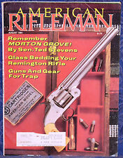 Vintage Magazine American Rifleman, AUGUST 1984 !!! H & R 5200 TARGET RIFLE !!!