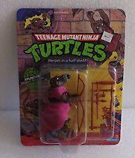 1988 VINTAGE NEW MOC MINT ON CARD TMNT TEENAGE MUTANT NINJA TURTLE SPLINTER