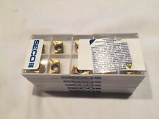 SECO  XOMX 120408TR ME08 F40M  *** MILLING INSERTS *** FACTORY PACK OF 10 ***