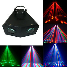 Sweeper 2 Eyes DMX512 Stage Light 128 LED Lights Party DJ Disco KTV Show 4CH