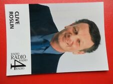 POSTCARD ANONYMOUS PEOPLE RADIO 4 PRESENTER - CLIVE ROSLIN