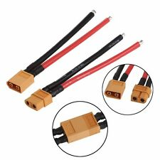 1 Pair Battery XT60 Connector Male Cable Female Plug Wire 10cm for DJI Phantom