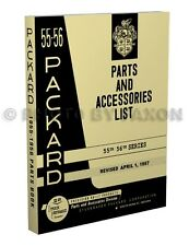 1955-1956 Packard Master Parts Book Illustrated Part Catalog 55 56