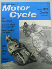 Motor Cycle Magazine, May 26, 1966, Free Circuits Pull-out,   blue box 1