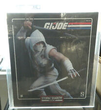 GI Joe Storm Shadow Sideshow Statue RARE - AFA 85 Uncirculated