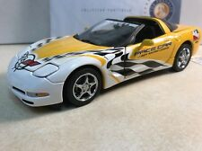 1/24 Franklin Mint Yellow 2002 Corvette Indy League Pace Car Coupe S11E684 #350