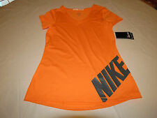 Nike Pro Core Stay Cool Womens t shirt XL 666174 810 ornage training NWT^^