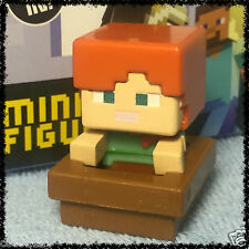 Minecraft Blind Box Figures Ice Series 5 - ALEX (WITH BOAT) - NEW - OOP