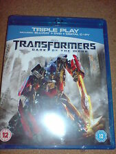 TRANSFORMERS - DARK OF THE MOON - BLU-RAY NEW