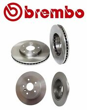 NEW Toyota Avalon 1999-2005 Set of Front and Rear Brake Rotors Brembo