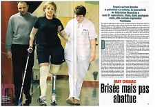 Coupure de presse Clipping 2006 (4 pages) Journaliste libanaise May Chidiac