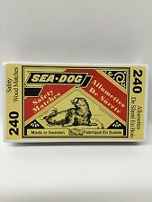 240 wood matches all purpose home, kitchen,  outdoor - total of 240 matches